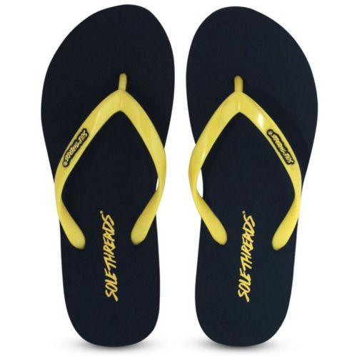 Sole Threads Women Yellow Navy ST-BASIC-(L) Slippers