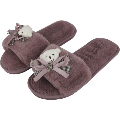 IRSOE Latest and Comfortable Indoor/Outdoor Soft bottom Slippers |Womens Flipflop |Womens Fancy Slippers |Girls Slippers flip Flop Purple Slippers