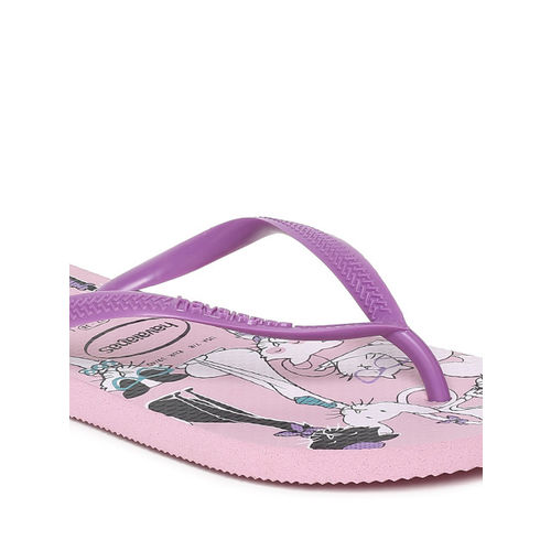 Havaianas Women Purple Solid Thong Flip-Flops