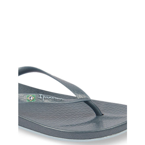 iPanema Women Blue Solid Thong Flip-Flops
