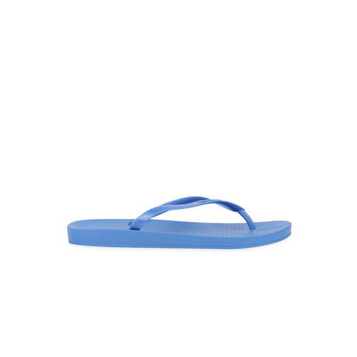 iPanema Women Blue Solid Thong Flip-Flops