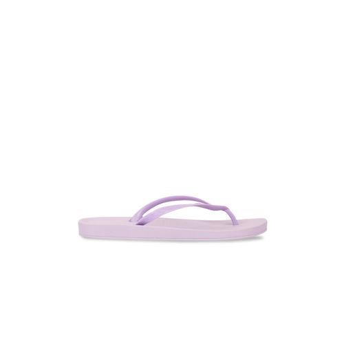 iPanema Women Purple Solid Thong Flip-Flops