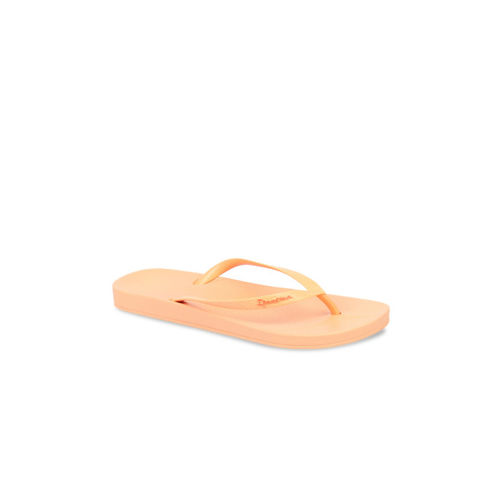 iPanema Women Orange Solid Thong Flip-Flops