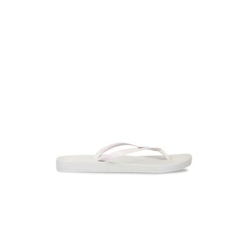 iPanema Women White Solid Thong Flip-Flops
