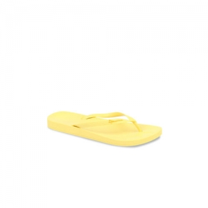 iPanema Women Yellow Solid Thong Flip-Flops