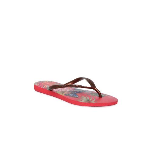 Havaianas Women Bronze-Toned Thong Flip-Flops