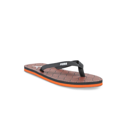 Puma Women Grey Solid Thong Flip Flops
