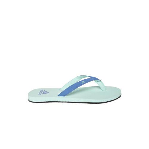 ADIDAS Women Blue & Mint Green EEZAY 2018 Thong Flip-Flops