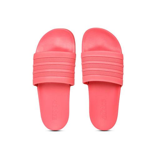 ADIDAS Women Fuchsia Adilette Comfort Solid Sliders