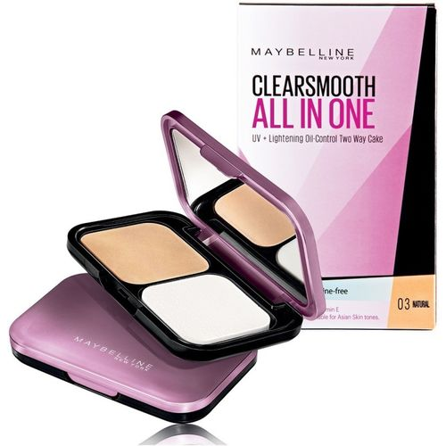 Maybelline Clear Smooth All in One Compact(03 Natural, 9 g)