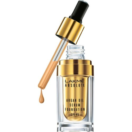 Lakme Absolute Argan Oil Serum with SPF 45 Foundation(Ivory Cream, 15 ml)