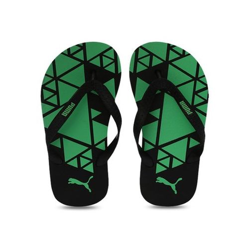 Puma Gear V3 IDP Black & Irish Green Flip Flops