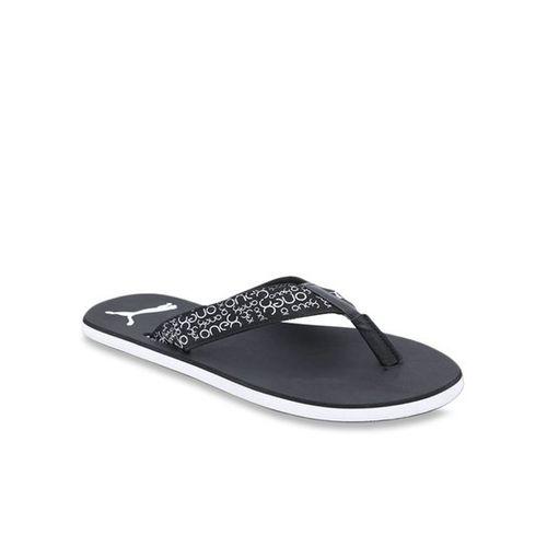 Puma Breeze One8 Black Flip Flops