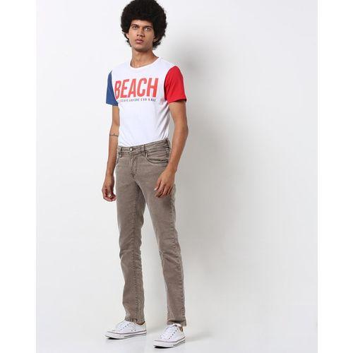 LAWMAN PG3 Mid-Rise Slim Fit Jeans