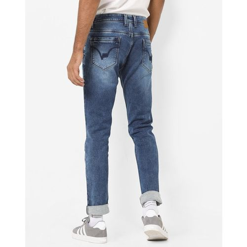 LAWMAN PG3 Slim Fit Washed Jeans