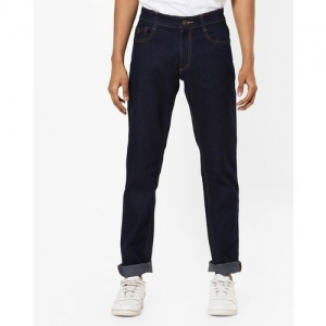 JOHN PLAYERS Blue Mid-Rise Clean Jeans