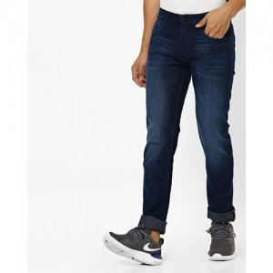 JOHN PLAYERS Mid-Rise Washed Slim Fit Jeans