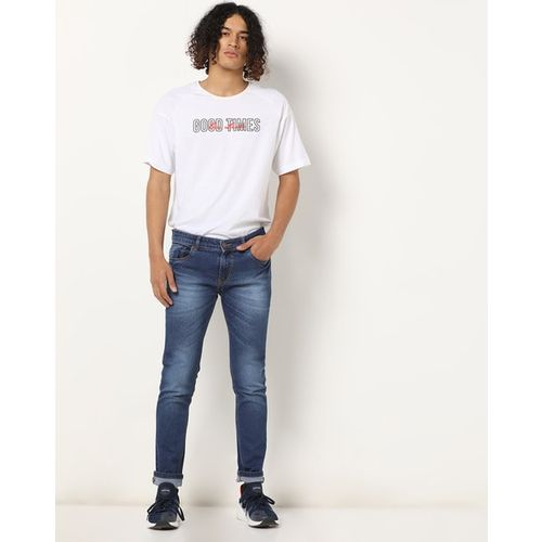 High Star Washed Slim Fit Jeans