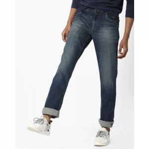 JOHN PLAYERS Mid-Wash Slim Fit Jeans