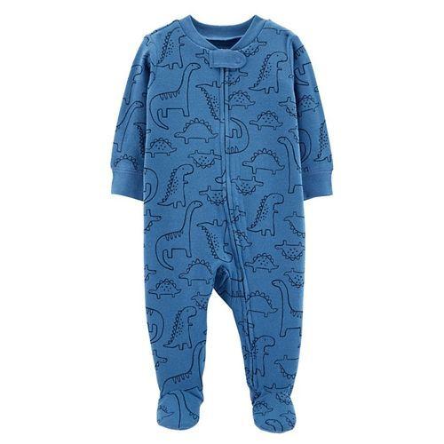 Carter's Dinosaur Zip-Up Cotton Sleep & Play - Blue