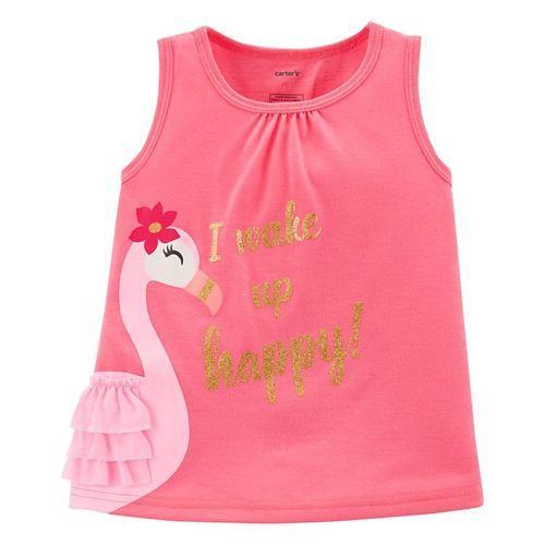 Carter's 3-Piece Flamingo Poly PJs - Pink