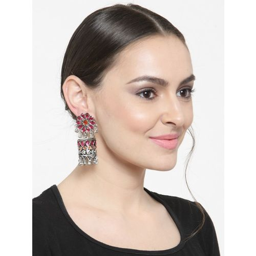 Moedbuille Multicoloured Contemporary Jhumkas