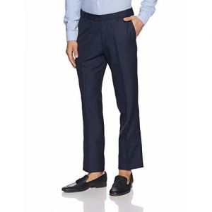 John Players Men's Slim Fit Formal Trousers JFMWTRS180023
