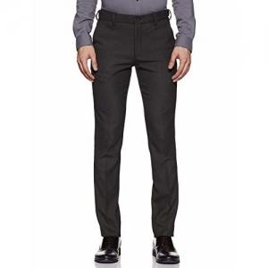 John Miller Men's Super Slim Formal Trousers