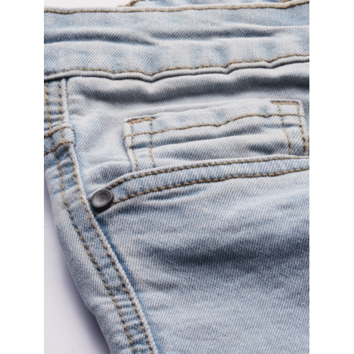 Roadster Women Blue Women Crop Skinny Fit Mid-Rise Clean Look Stretchable Jeans