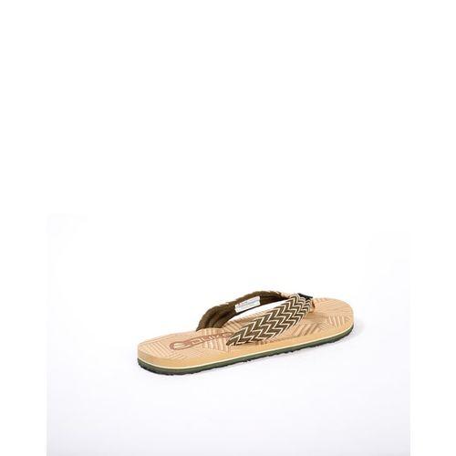 DUKE Woven Thong-Style Flip Flops