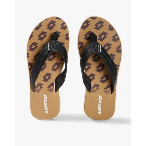 LOTTO Printed Thong-Style Flip-Flops