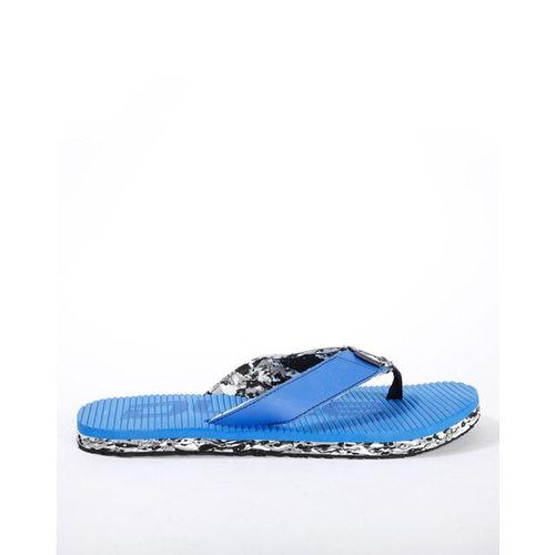 DUKE Textured Thong-Style Flip Flops