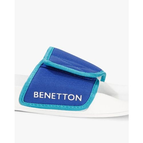 UNITED COLORS OF BENETTON Sliders with Velcro Fastening