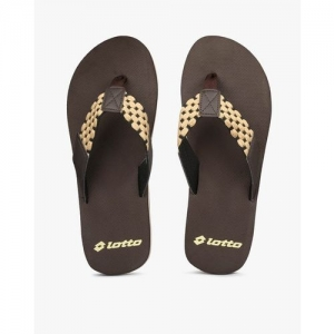 LOTTO Textured Thong-Strap Flip-Flops