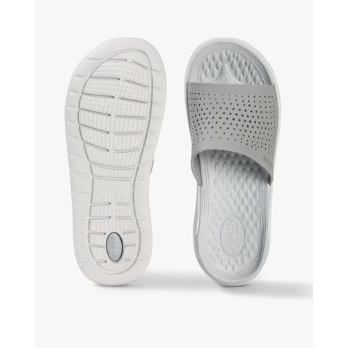 CROCS LiteRide Slides with Cut-Outs