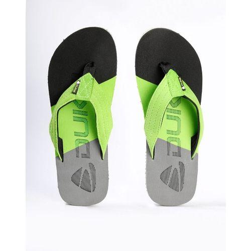 DUKE Colourblock Thong-Style Flip-Flops with Branding