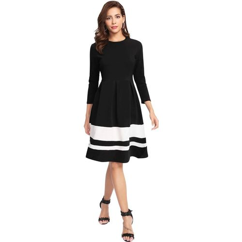 ILLI LONDON Shift Black Dress