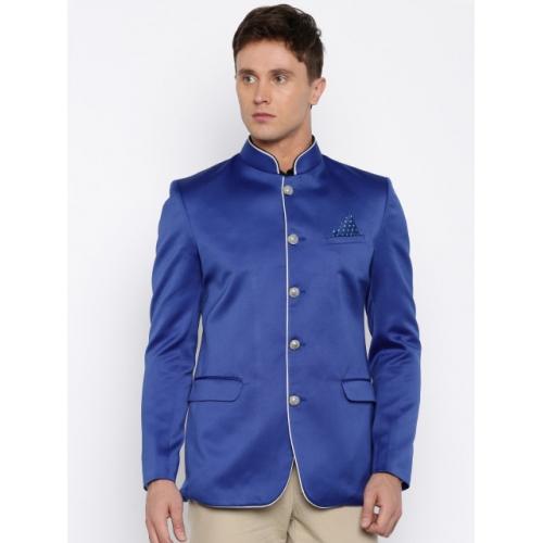 Abhivani Blue Jodhpuri Jacket
