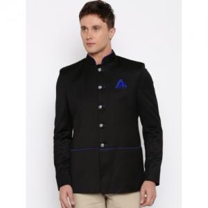 Abhivani Black Jodhpuri Jacket