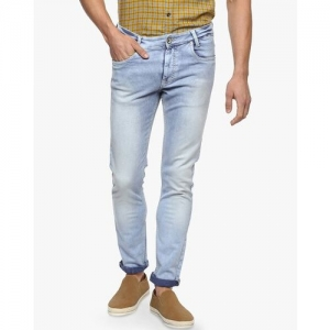 MUFTI Mid-Washed Skinny Jeans