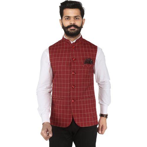 Amogue Sleeveless Solid Men Jacket
