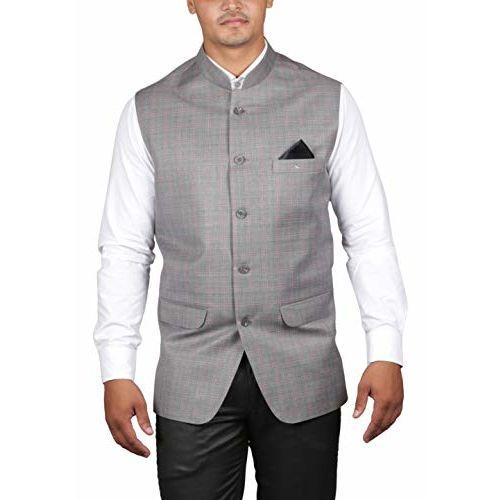 Panache. Men's Poly Cotton Ethnic Jacket