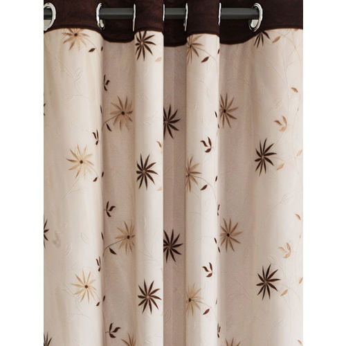 Cortina Beige Sheer Door Curtains
