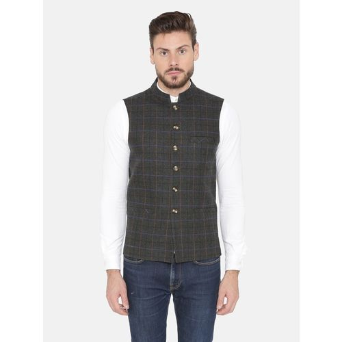Dhrohar Sleeveless Woven Men Jacket
