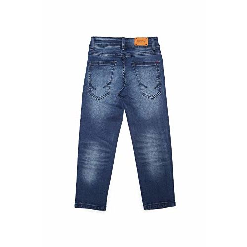 Allen Solly Junior Boy's Straight Fit Regular Jeans