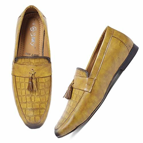BXXY Men's Formal Pu Leather Loafer & Mocassins Shoe