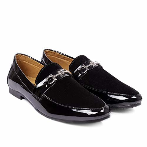 BXXY Men's Formal Pu Leather Loafer & Mocassins Shoes