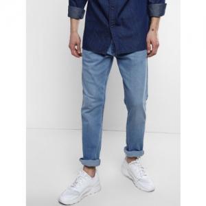 304137d9cea Levis Men Blue 513 Slim Straight Fit Mid-Rise Clean Look Stretchable Jeans