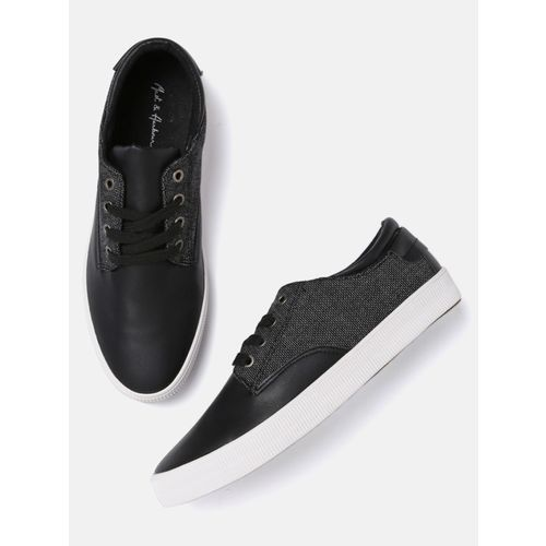 Mast & Harbour Sneakers For Men(Black)