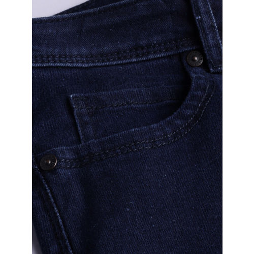 United Colors of Benetton Women Blue Bootcut Mid-Rise Clean Look Stretchable Jeans